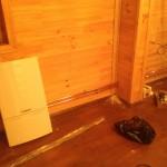 Сверление отверстий в деревянном доме