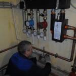 Установка газовой котельной