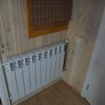 Установка радиатора в коридоре